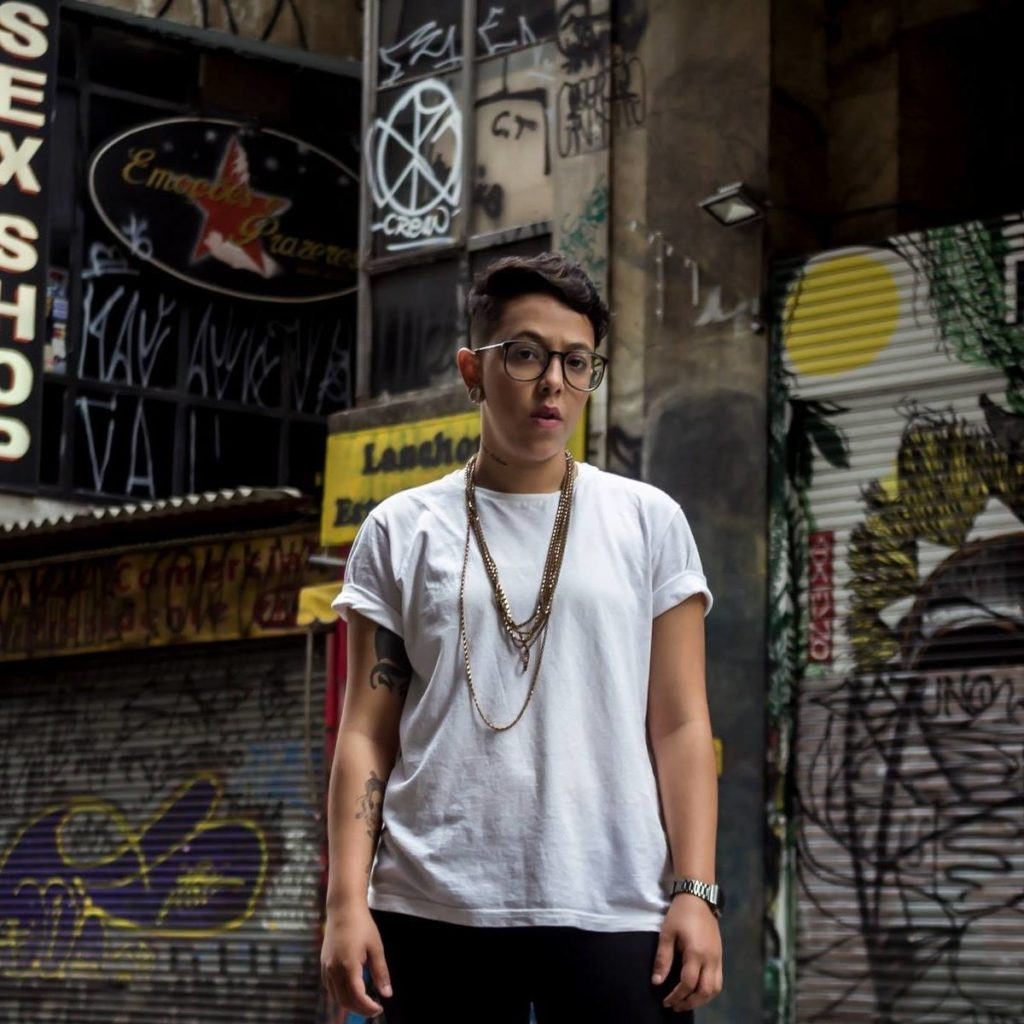 A DJ e produtora BadSista vai falar no painel sobre Movimentos Urbanos