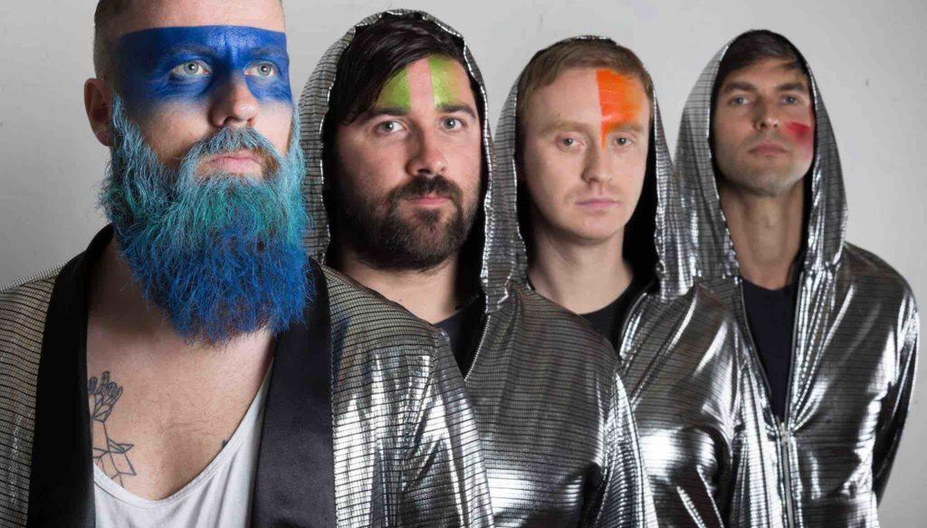A banda irlandesa Le Galaxie, finalista de 2015 do MAA